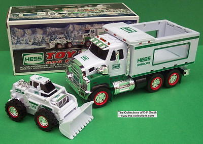 2008 Hess Toy Truck and Front Loader-New In Box, Never Opened