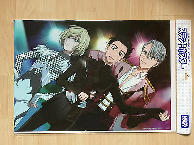 "Yuri on Ice, Stained Poster ""Figure Skating Costume"", OVP (sealed)"