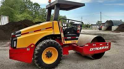 """2008 Dynapac CA152D Vibratory Roller Compactor 66"""" Smooth Drum"""