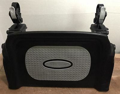 Baby Jogger Glider Board For City/Summit Black & Gray Excellent Condition