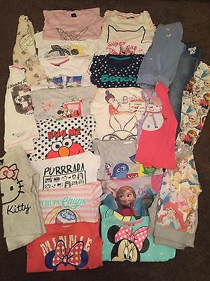 Girls Clothing Bundle 7-8 Years- Includes Summer Tshirts- George, Next, TU