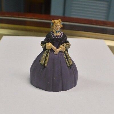 Franklin Mint Gone With The Wind Aunt Pittypat 3+1/2 inch Figure