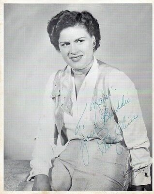 PATSY CLINE Autograph on 8x10 photograph, very nicely signed and inscribed