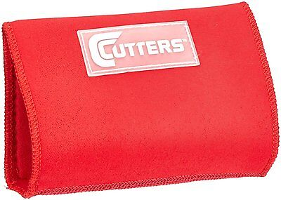Shock Doctor Cutters Triple Playmaker Flag Football Spandex Wristcoach Red Youth