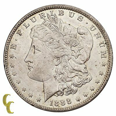 1888-O Morgan Silver Dollar $1 Choice (BU) Brilliant Uncirculated Condition