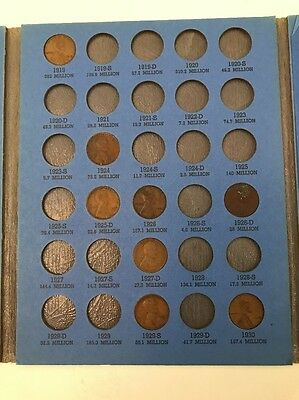 1909-1940 Lincoln Head Cent Book Free Shipping