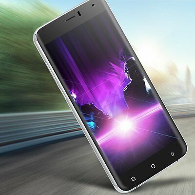 """Unlocked 6""""inch Quad Core Android 5.1 Mobile Phone 3G 8MP Smartphone 2SIM XGODY"""