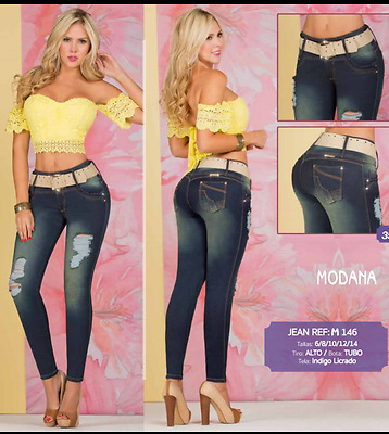 Jeans Colombianos Y0002 Authentic Colombian Push Up Jeans Jean