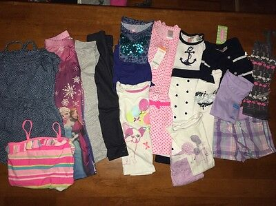 Toddler Girl Clothes Lot Size 5, Lot Of 17, 3 Are NWT
