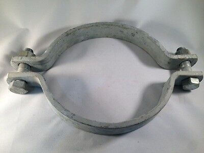 "Pipe Clamp 8"", Sway Brace - Galvanized, Medium Duty, ANVIL Fig. 212"