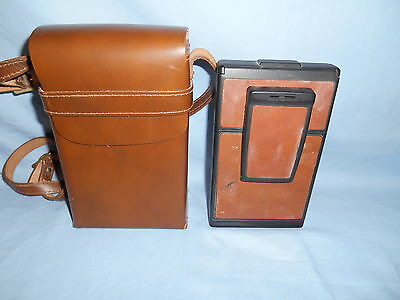 Vintage Polaroid SX-70 Instant Land Camera Model 3 w/Leather Case Bag