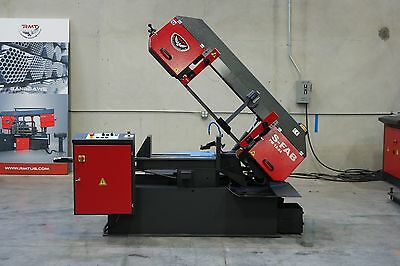 "NEW RMT S-FAB PM 12""x24"" Semiautomatic Pivot Type Single Miter Bandsaw"