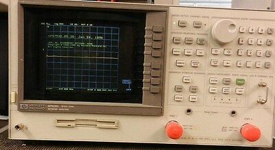 Agilent HP 8753D Network Analyzer,  300 kHz - 3 GHz NICE