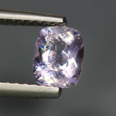 0.66 Cts_Simmering Ultra Nice Gemstone_100 % Natural Light Purple Scapolite
