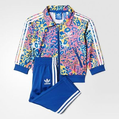 Adidas Infant Soccer Firebird Full Tracksuit Kids children Jogger Set AI9994