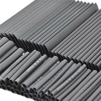127pc Heat Shrink Wire Tubing Assortment Wrap Electrical Connection Cable Sleeve