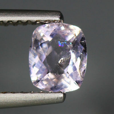 0.63 Cts_Simmering Ultra Nice Gemstone_100 % Natural Light Purple Scapolite