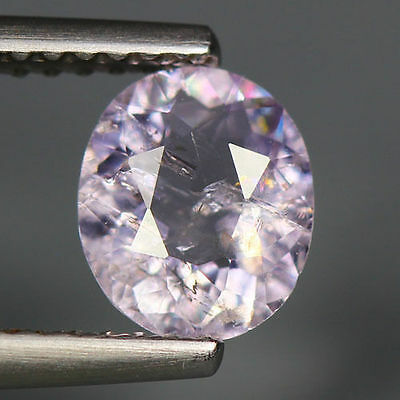 0.84 Cts_Simmering Ultra Nice Gemstone_100 % Natural Light Purple Scapolite