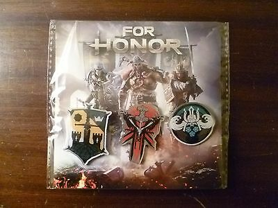 For Honor - Pin Badges - Set of Three - Promo