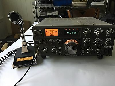 KENWOOD TS-530S WITH KENWOOD MC-50 MIC As Is Read Description!!!
