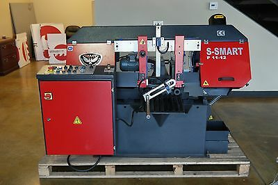 "NEW RMT S-SMART P 11""x12"" Automatic Pivot Type Straight Cutting Bandsaw"