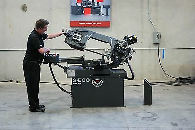 "NEW RMT S-ECO PDM 9""x12"" Manual Pivot Type Double Miter Bandsaw"