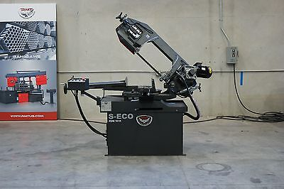 "NEW RMT S-ECO PDM 10""x14"" Manual Pivot Type Double Miter Bandsaw"