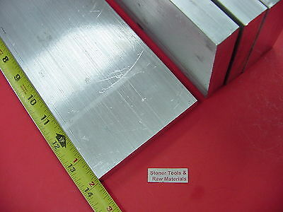"""8 Pieces 3/4"""" X 4"""" ALUMINUM 6061 T6511 FLAT BAR 14"""" long Solid Plate Mill Stock"""