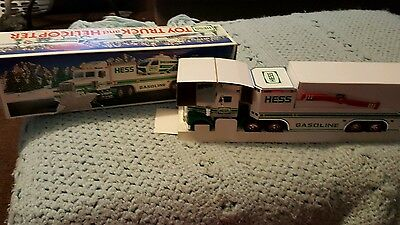 Brand New In The Box 1995 Hess Toy Truck And Helicopter