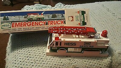 Brand New In The Box 1996 Hess Emergency Truck