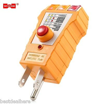 WHDZ WH305 Socket Safety Tester AC 110V-125V Mini High Quality US Socket Tester
