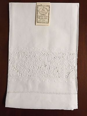 Harvest Fruit Pure Irish Linen Bath Towel Hand Embroidery (1 towel) BT7882W