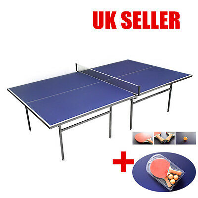 Professional Indoor Sport  Game Table Tennis Ping Pong DoublesTable Full Size