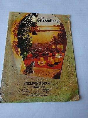 1971 Sheldon's Drug Rexall Gift Gallery Catalog, Yale & Brown City, Mi