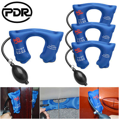 4pc Super PDR U Type Air Pump Wedge Up Clamps Tool Windows Frames Hand Set