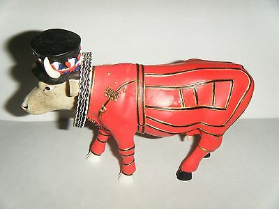 "Cow Parade Cow #7247 ""beefeater-It-Ain't Natural "" 2002 Westland Figure"