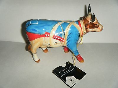 "Cow Parade Cow #7339 ""revolutionary War Cow "" 2004 Westland Figure"