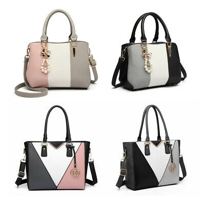 Women Designer PU Leather  Shoulder Tote Large Handbag  Ladies Work bags