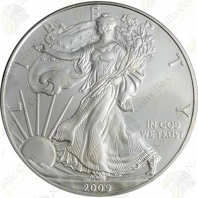 2009 1 oz American Silver Eagle – Brilliant Uncirculated – SKU #1403