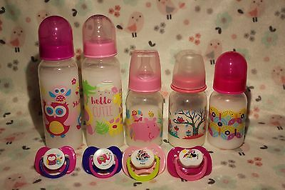 Baby Alive Magnetic Bottle & Pacifier! Your choice of 5or 9oz bottle Milk or AJ!