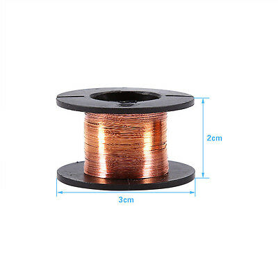 Winding Thin Length 15m Durable Enameled Wire Copper   Repair Wires 5pc0.1mm