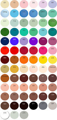 Face Paint, Professional Stage Quality Kryolan Aquacolor Makeup 8ml, NEW