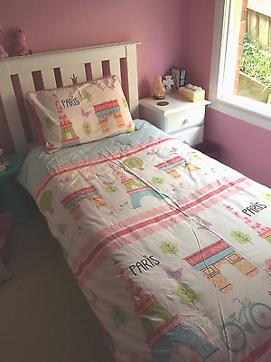 Child's Single Bed and Bedside Draws