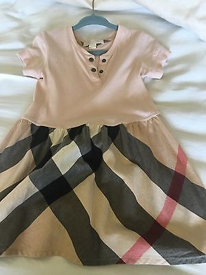 burberry kid dresses for 2-3t  pink color