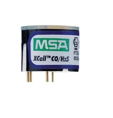 MSA Altair Xcell CO/H2S Replacement Sensor,  P/N 10106725,