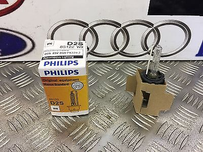 Phillips Xenon Hid Car Headlight Bulb D2S (Single) 85122Wx