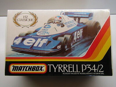 Matchbox Vintage 1/32 Scale Tyrrell P34/2 6 Wheeler Model Kit - New & Sealed