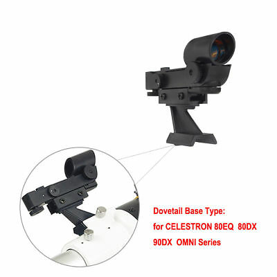 Red Dot Finder Scope for Celestron 80EQ/DX 90DX SE SLT Astronomical Telescope US