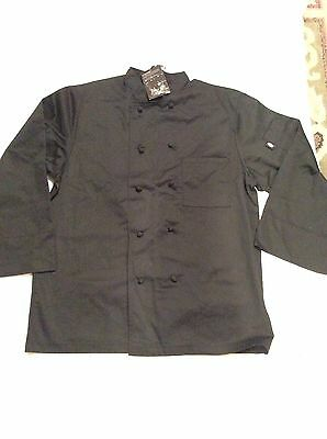 DICKIES CHEF JACKET,SZ-Large,CLOTH BOOTONS.NEW
