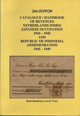 Philatelic Catalogue of Revenues of Netherlands Indies Japanese occupation